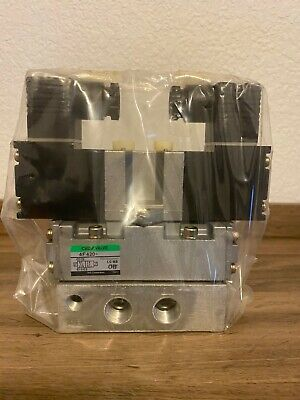 Ckd Pilot Operated Spool Valve 4f420-10 New-in-box
