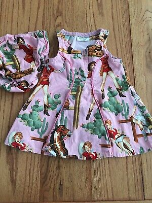 Girls Cowgirl Western Dress Size 12 Months - Girls Cowgirl Clothes