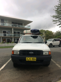 Ford Courier 2001 Ute. Backpackers car