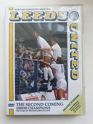 LEEDS UNITED THE SECOND COMING 1989 / 1990 CHAMPIONS DVD FOOTBALL NOT IN SHOPS