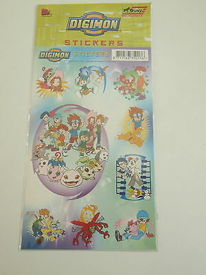 Digimon Stickers Anime Digital Monsters 2000 Toei - W