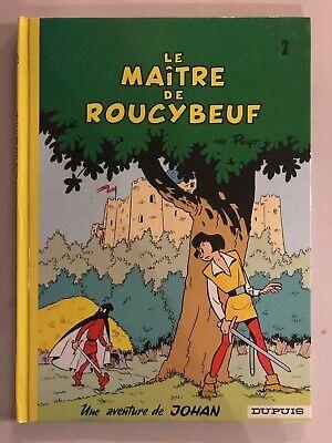 BD Johan Et Pirlouit Le Maître De Roucybeuf Dupuis Peyo Ré 2005