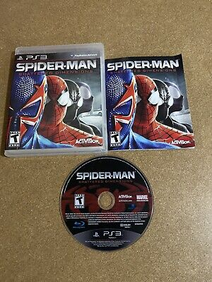 Spider-Man: Shattered Dimensions (PlayStation 3, 2010) Complete Fast Ship PS3