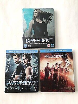 Divergent Series Blu-ray SteelBook Entertainment Store/Best Buy