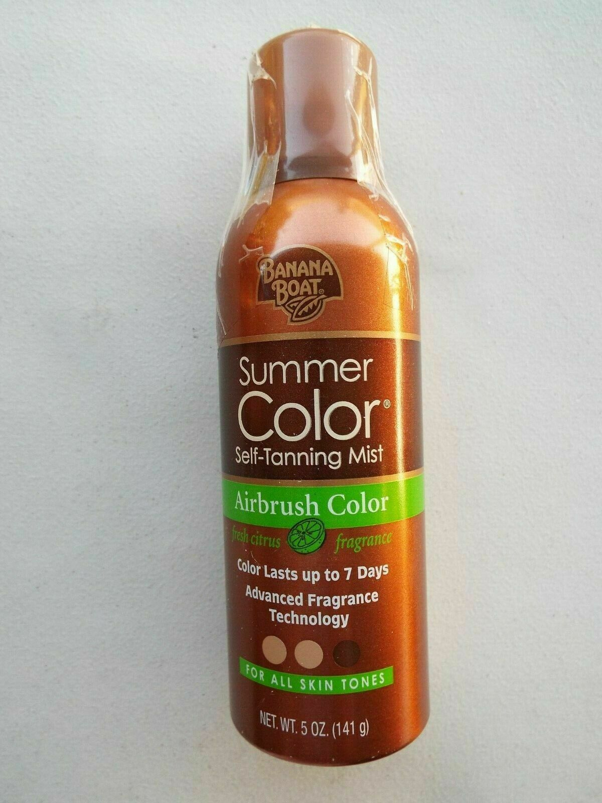 Banana Boat Summer Color Self Tanning Mist: 5 OZ