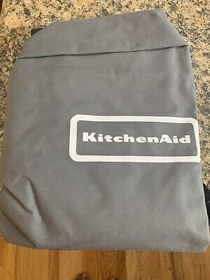 Kitchen Aid 30 In. Polyester Cart-Style BBQ Grill Smoker Cover