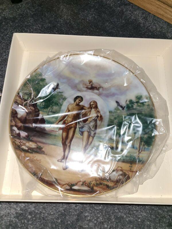 Bannished Ftom Eden Collector Plate
