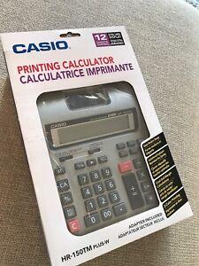 "CASIO PRINTING CALCULATOR (large- approx 13""x9"")"