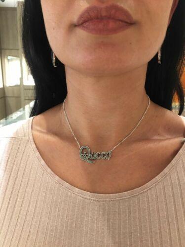 Queen Logo handmade pendant necklace sterling silver 925  Freddie Mercury