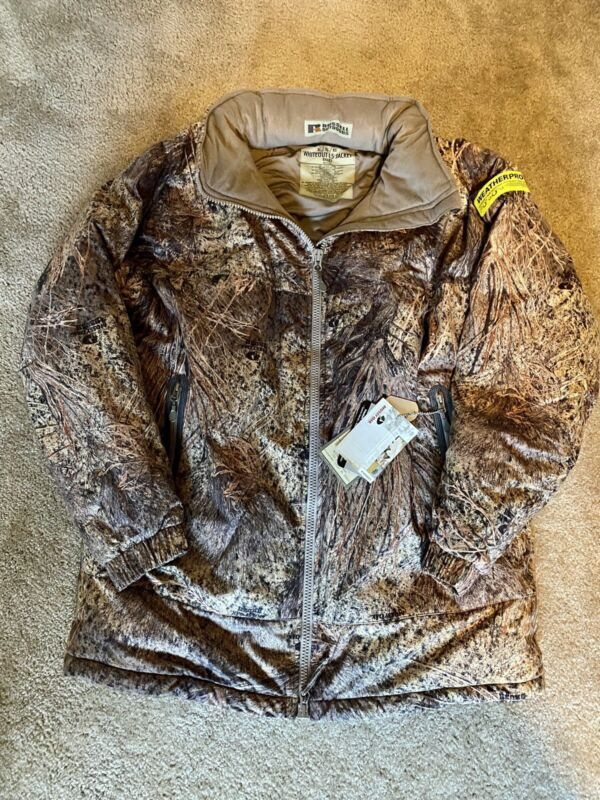 Russell APX Whiteout L5 Camo hunting coat parka Mossy Oak Brush Size XL