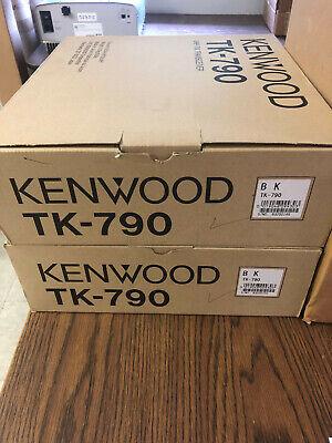 Kenwood Tk-790bk Vhf Mobile Dual Head Remote Mount Radio 9bmdh1 - 2 Available