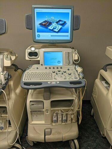 GE Logiq 9 Ultrasound with 9L, 3.5C, 4C, i12L Probes (Rev 4) (DOM 2007)