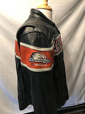 Harley Davidson Men's  Screamin'  Eagle  Thunder  Hill  Leather Jacket . US XL.