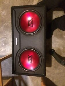 "12"" MTX Thunder subs In box"
