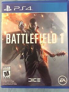 Selling Battlefield 1 PS4 (Perfect Condition)