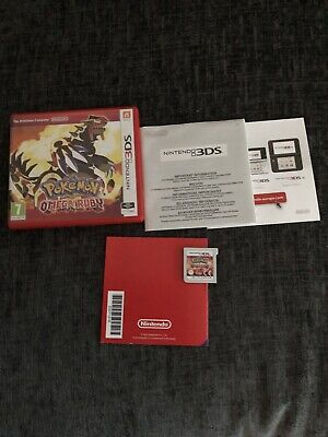 Pokémon Omega Ruby Nintendo 2DS 3DS Complete 100% Genuine