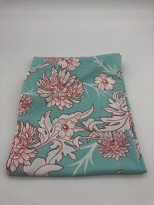 Seven Sling Baby Carrier Indy Blue Pink Flower Infant Newborn To 35lbs  Sz Large