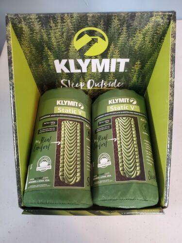 Klymit Static V Sleeping Air Pad - 06SVGR01C