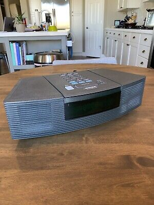 Bose Wave Radio CD Player Stereo Alarm Clock Model AWRC1G