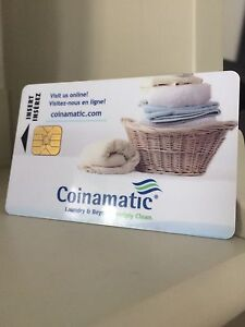 Coinmatic Laundry reloadable card