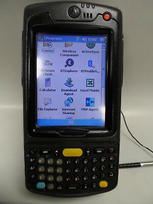 Motorola Symbol Pocket PC Barcode Scanner MC70 MC7090-PK0DCQQA9WR Battery Motorola Pocket Pc
