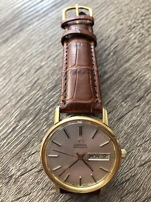 (Omega Automatic with date Vintage 1970 CAL.1020 Wrist Watch for Men)