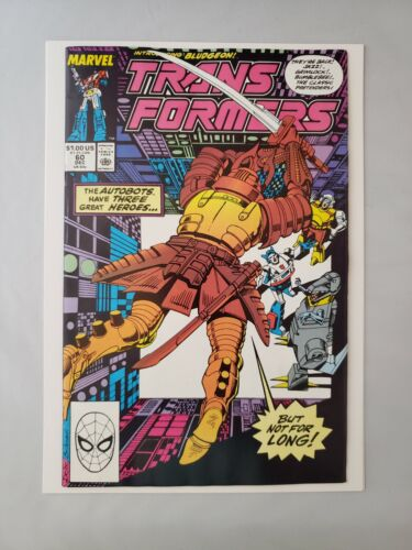 KEY Transformers #60 1st Appearance of Primus, Quickmix, Landfill, Thunderw