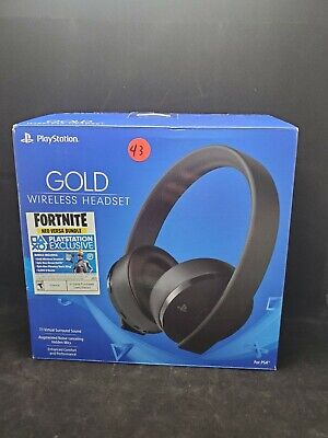 Sony Gold Wireless Stereo Headset, black for PlayStation 4 #43