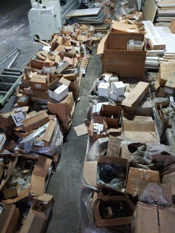 Truckload of Miscellaneous NEW Parts for Store Display Manufacturing