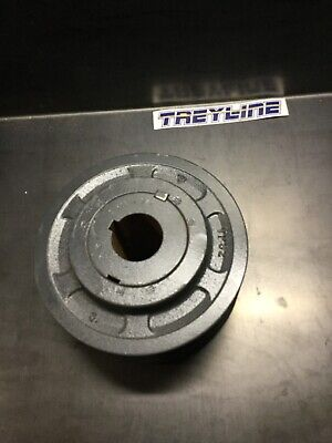 New Browning 2vp62x-1 2 Groove Sheave Pulley 38. 12m-2