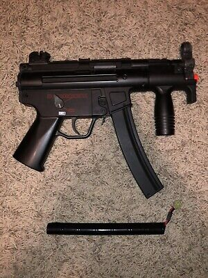 Airsoft AEG MP5K - Includes Battery And One Mid-cap Magazine - NO CHARGER