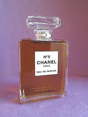 Chanel No 5 Eau de Parfum Factice Dummy Display Bottle 3.4 oz 100ml Perfume RARE