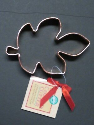 Large Copper Maple Leaf Halloween Fall Thanksgiving Cookie Cutter 5.5