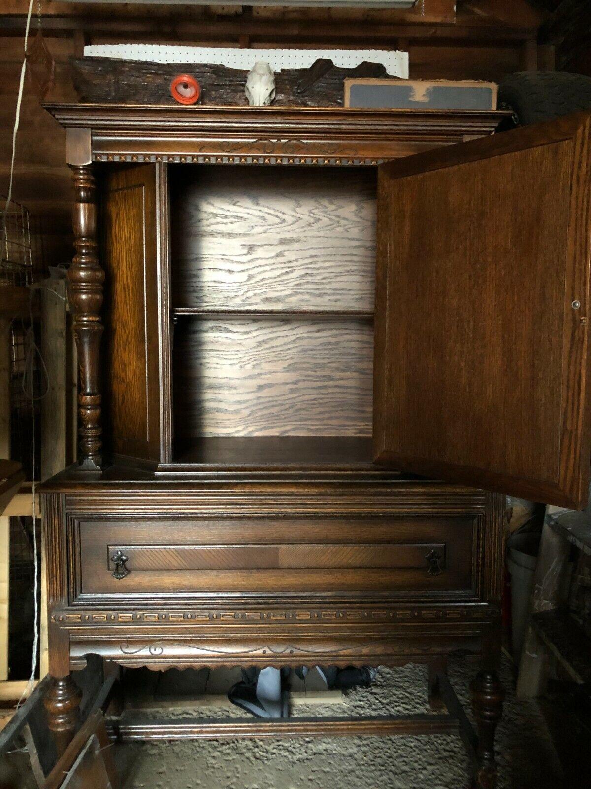 Antique Oak Dining Room Furniture Set - $1,799.00