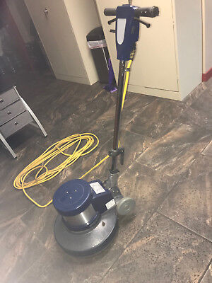 Tennant Bluestar 17 Low Speed Floor Buffer 1.5 Hp With 10 Pads