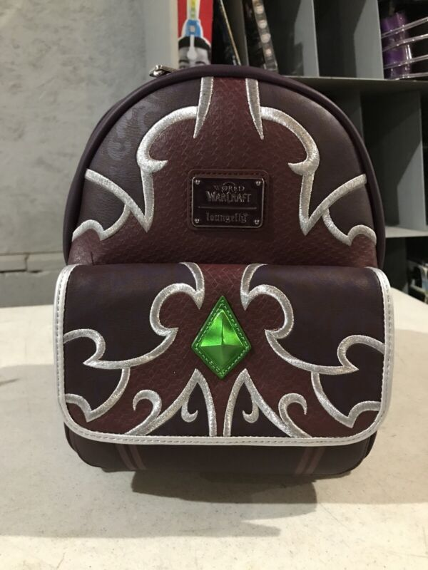 Brand New World Of Warcraft Loungefly Sylvanas Backpack Blizzard Batch