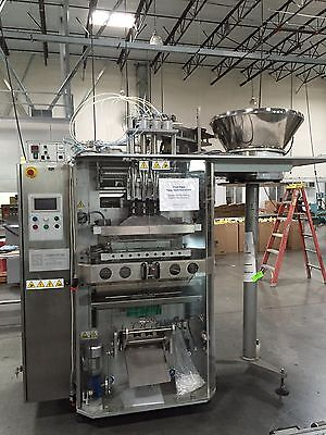 (Schmucker Vertical Form/Fill/Seal Machine, Model Tube S3L)