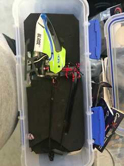 RC helicopters, parts and spectrum DX6i