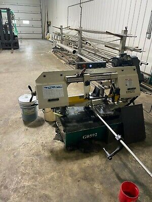 Grizzly G0592 2hp Metal Cutting Bandsaw - 10 X 18 Inch