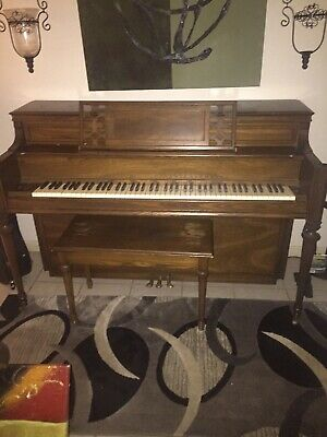 Whitney Piano Fallboard Decal