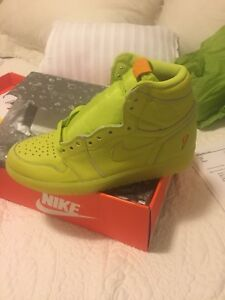 Air Jordan 1 Gatorade Lemon Lime size 9
