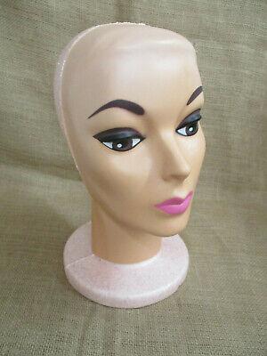 Female Mannequin Display Head - Hats Wigs Holder - 12