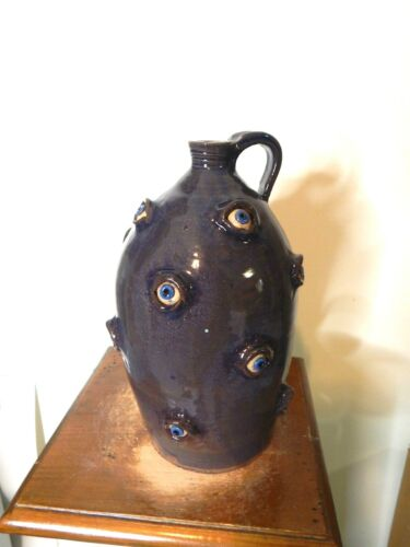mike ledford  face jugs ,pottery, folkart 11