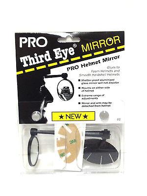 Third Eye Pro Helmet Bicycle Mirror