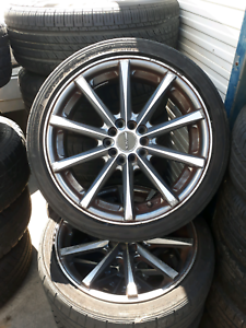 17 inch wheels with tyres Coopers Plains Brisbane South West Preview