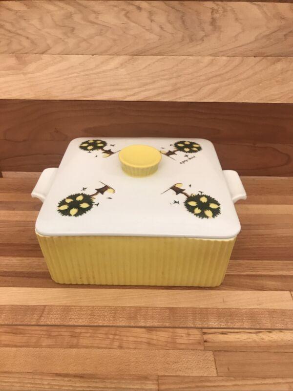 "Rare Georges Briard ""Lemon Tree"" Vintage Casserole Dish - Beautiful Piece 8x8"