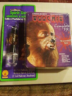 Woochie by Cinema Secrets Werewolf complete FX kit & spirit gum kit by Rubie inc