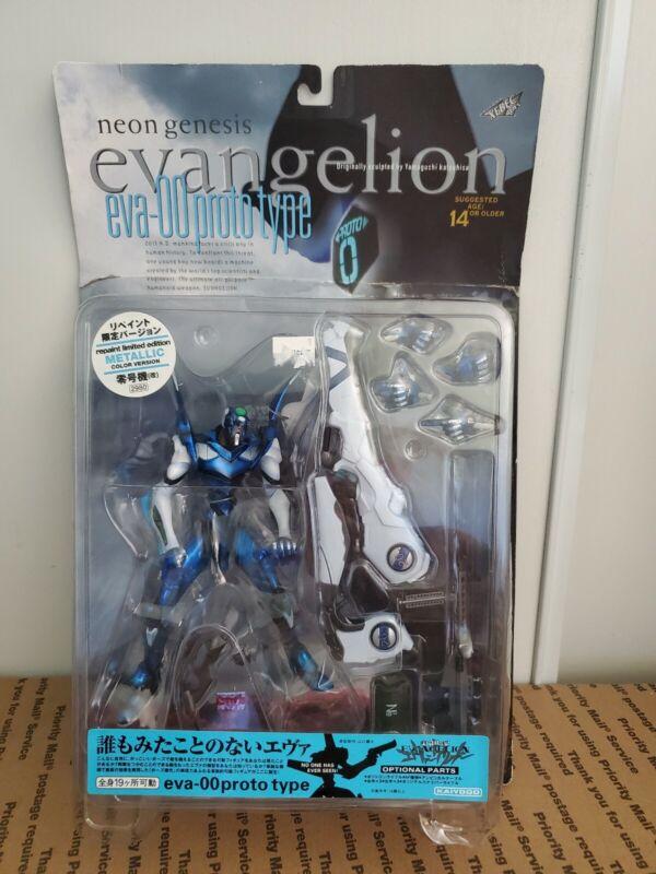Neon Genesis EVANGELION Eva-00 Prototype Blue Figure Yamaguchi Katsuhisa