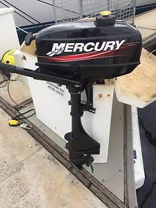 Mercury 3.3hp outboard motor Glenelg Holdfast Bay Preview
