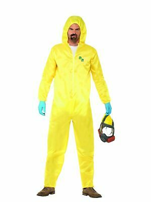 Breaking Bad Hazmat Suit Mens Halloween Fancy Dress Costume Licensed Official - Breaking Bad Halloween Costume Hazmat Suit